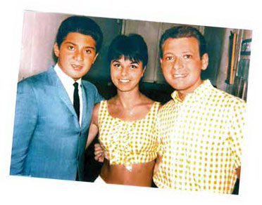 Mary with Paul Anka